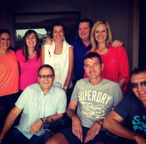 An inspiring team, Joost van der Westhuizen & the J9 Foundation, South Africa.